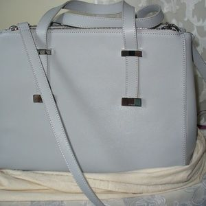 Ted Baker Grey Alexiis Bow Large Tote NWT Handbag